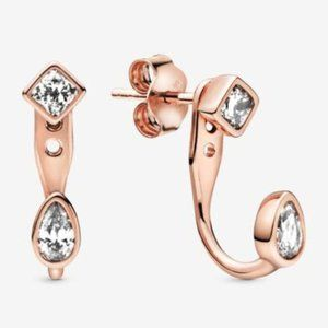 🔥Pandora🔥 Geometric Shapes Stud Earrings
